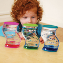 Sensory Dual Colour Liquid Timer Runner